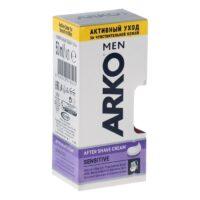 ARКО MEN After shave cream sensitive для чувствительной кожи Крем после бритья 50 г
