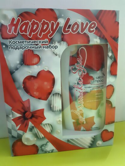 Aromika Happy Love (шампунь 300 мл + гель для душа 300 мл) подарочный набор