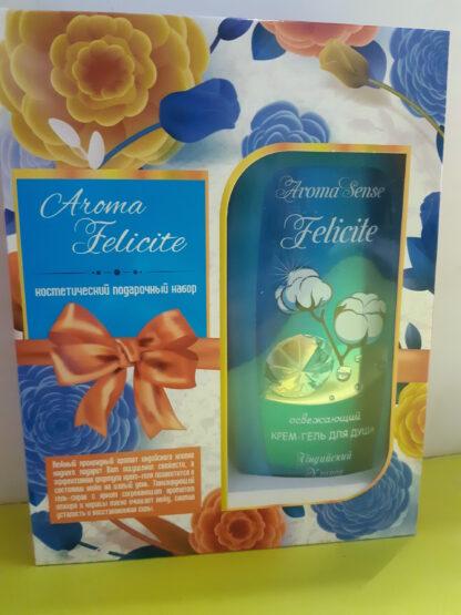Aromika Aroma Felicite (скраб-мыло 300 мл + Aroma Sense гель для душа 300 мл) подарочный набор