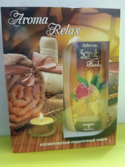 Aromika Aroma Relax (скраб-мыло 300 мл + Aroma Sense гель для душа 300 мл) подарочный набор