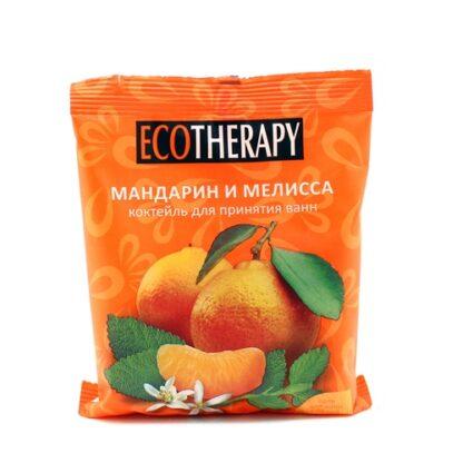 Eco Therapy мандарин и мелисса морская соль + пена коктейль для принятия ванн 100 г
