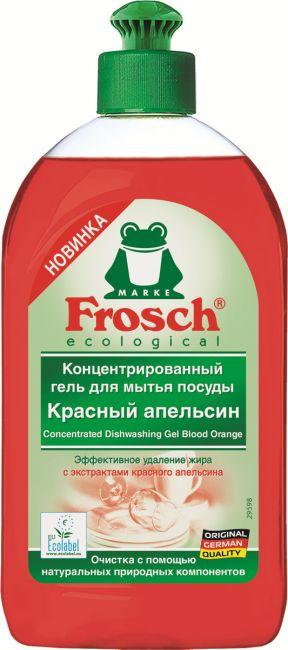 Frosch ecologial Красный апельсин концентрированный гель для мытья посуды 500 мл