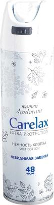 Carelax for women Нежность хлопка Дезодорант спрей 150 мл