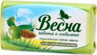 Весна Олива/миндальное молочко Мыло туалетное 90 гр