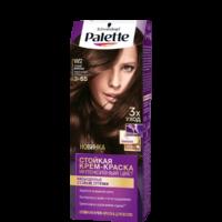Palette 3-65 темный шоколад интенсивный цвет Стойкая крем-краска для волос