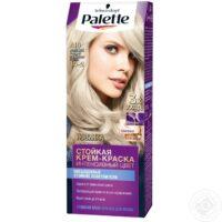 Palette 10-2 жемчужный блондин Интенсивный цвет Стойкая крем-краска для волос