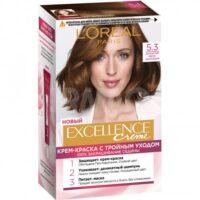 Loreal EXCELLENCE Creme 5.3 Золотистый Светло-каштановый Крем-краска для волос