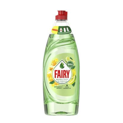 FAIRY Pure&Clean Бергамот и имбирь средство для мытья посуды 650 мл