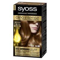 Syoss oleo intense 6-80 золотистый русыйУдвоенная сила масла стойкая краска для волос