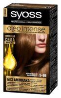 Syoss oleo intense 5-86 карамельный каштановый Удвоенная сила масла стойкая краска для волос
