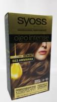 Syoss oleo intense 6-10 тёмно-русый с ухаживающим маслом без Аммиака стойкая краска для волос