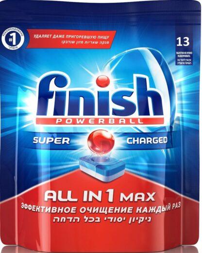 FINISH Power Ball Таблетки для посудомоечных машин 13 шт