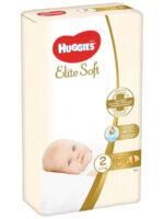 Huggies Elite soft подгузники 2 (3-6 кг) 50 шт