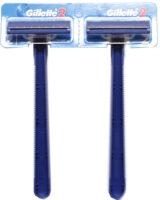 Gillette без смазывающей полоски одноразовый бритвенный станок (цена за 1 шт)