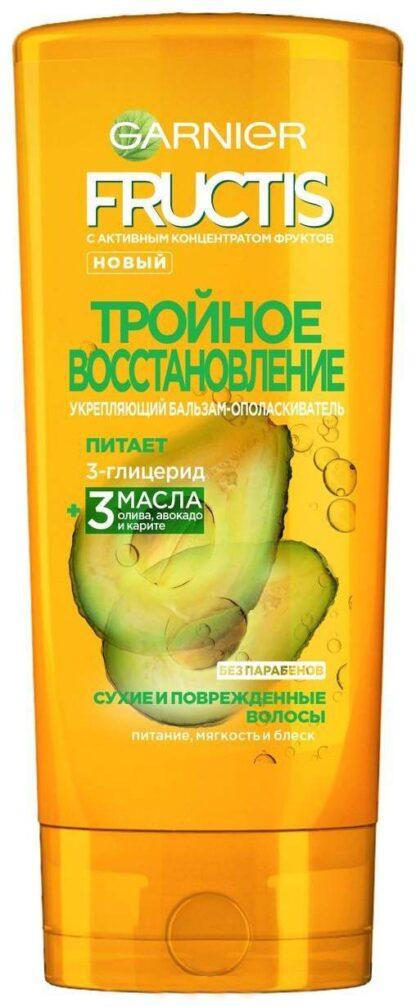 Garnier Fructis Тройное восстановление для сухих и поврежденных волос Бальзам-ополаскиватель 387 мл