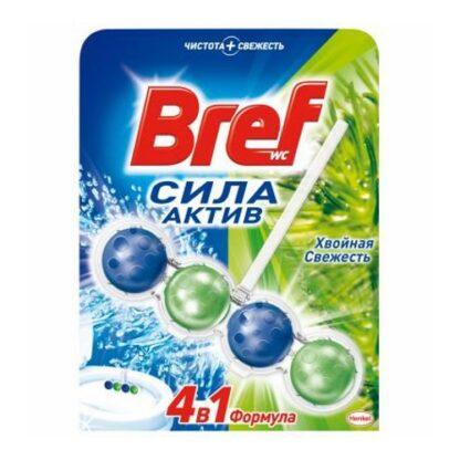 Bref Сила-Актив хвойная свежесть Чистящее средство для унитаза 50 г