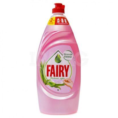 FAIRY Нежные руки Аромат Розового Жасмина и Алоэ Вера средство для мытья посуды 900 мл