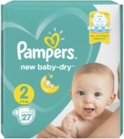 Pampers active baby-dry подгузники 2 (4-8 кг) 27 шт