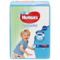 Huggies трусики для мальчиков 5 (13-17 кг) 15 шт