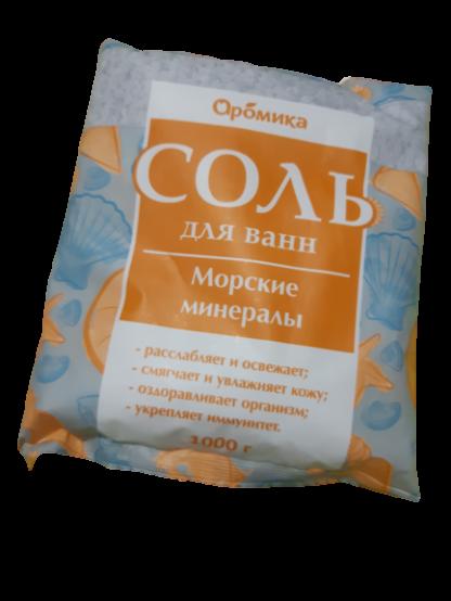 Aromika Морские минералы Соль для ванн 1000 гр