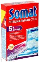 Somat 5 Действий Соль для посудомоечных машин 1