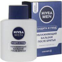 Nivea Men защита и уход от сухости кожи с алоэ вера увлажняющий бальзам после бритья 100 мл