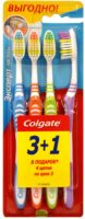 Colgate эксперт чистоты средней жесткости Зубная щетка 3+1 шт
