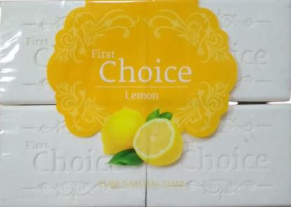 First Choice Limon Классическое хозяйственное мыло 4*125 гр