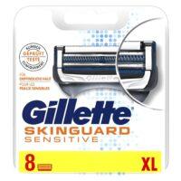 Gillette SKINGUARD Sensitive сменные касеты для бритья (цена за 1 шт)