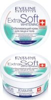 Eveline Cosmetics Extra Soft whitening отбеливающий Крем для лица и тела 200 мл