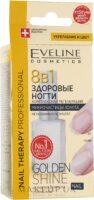 Eveline укрепление и цвет 8 в 1 с микрочастицами золота Препарат для регенирации ногтей 12мл