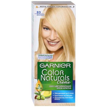 Garnier Color Naturals EO деколорант обесцвечивающая крем-краска для волос
