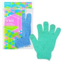Vell перчатка мочалка массажная 1 шт