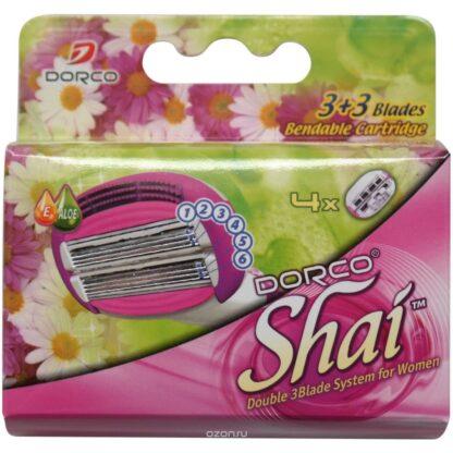 DORCO Shai 6 лезвий сменные кассеты для бритья (цена за 1 шт)