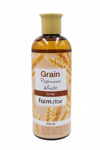 Farm Stay Premium  с экстрактом пшеницы увлажняющий тонер 350 мл