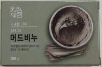 Корейское грязевое Косметическое Мыло 100 гр