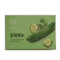 Корейское увлажняющие с экстрактом огурца Косметическое мыло 100 гр