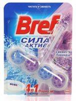 Bref Сила-Актив Свежесть лаванды Чистящее средство для унитаза 50 г
