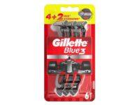 Gillette Blue 3 одноразовые бритвенные станки 1 уп - 6 шт (цена за уп.)