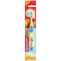 Colgate Миньоны на присоске супермягкие щетинки 2+ детская зубная щётка