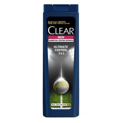Clear men ultimate control 2 в 1 Шампунь 400 мл
