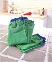 корейская рукавичка для скрабирования банная