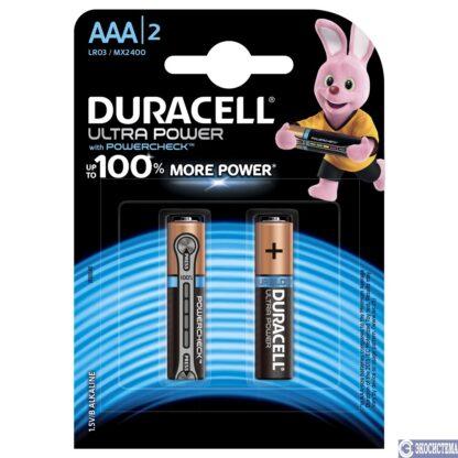 Duracell Ultra Power MX2400 ААА щелочные мизинчиковые батарейки (цена за 1 шт)