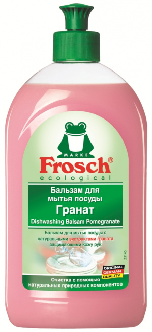 Frosch ecologial Гранат Бальзам для мытья посуды 500 мл