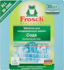 Frosch ecologial Сода Таблетки для посудомоечных машин 30 шт