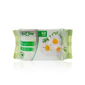 Spa4me Антибактериальные с ароматом ромашки влажные Салфетки 60 шт