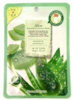 BeauuGreen Aloe с экстрактом алоэ Тканевая Маска для лица