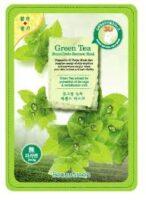 BeauuGreen tea с экстрактом зеленого чая Тканевая Маска для лица