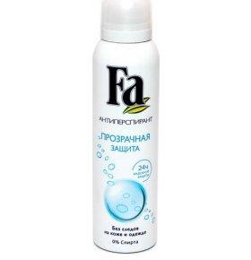 Fa Прозрачная защита спрей Дезодорант 150 мл