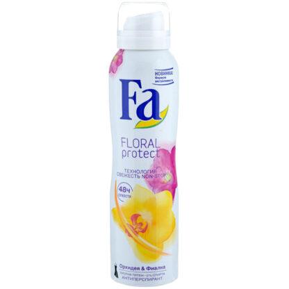 Fа Floral protect Орхидея и Фиалка спрей Дезодорант 150 мл